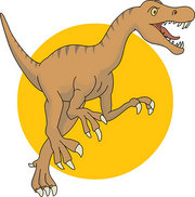 Allosaurus Image and provded by Classroom Clipart (http://classroomclipart.com)